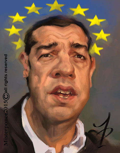 Alexis Tsipras por Misterponce