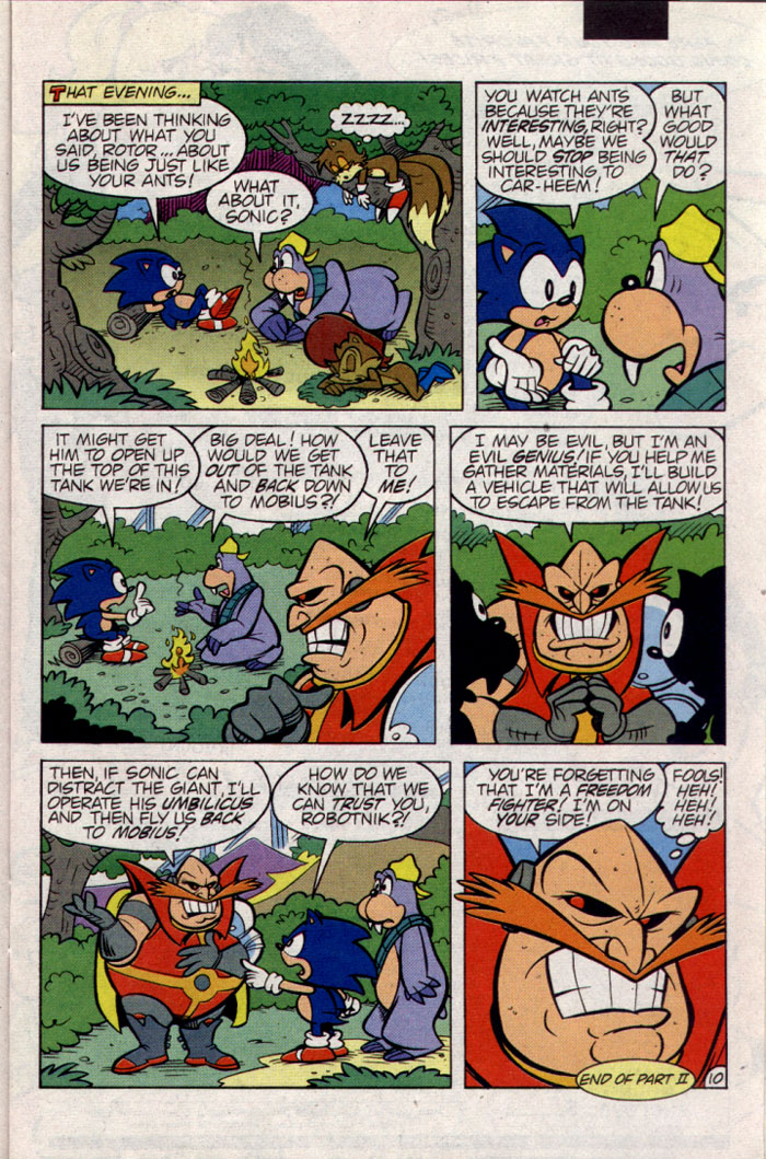 Read online Sonic The Hedgehog comic -  Issue #23 - 11