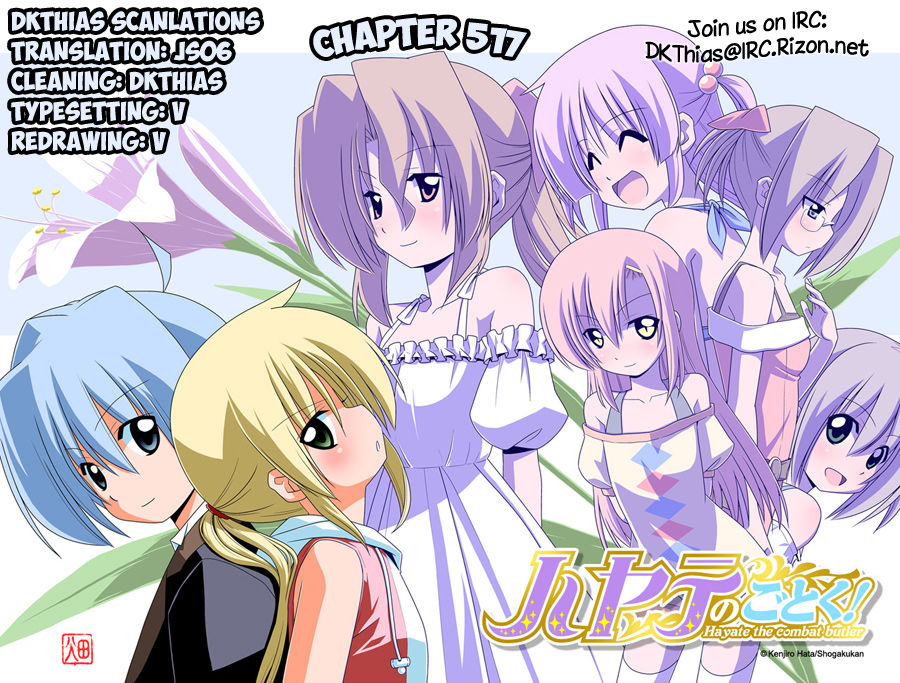 Hayate the Combat Butler - Chapter 552