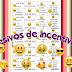 Adesivos escolares de incentivo - emojis