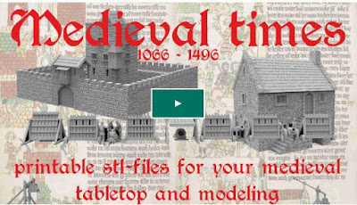 Project Update #19: Medieval, 3d Printable Terrain for Tabletop and Modeling Kickstarter from Najewitz Modellbau
