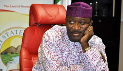 'President Buhari congratulating Fayemi on his emergence as APC candidate is simply day-dreaming' - Governor Fayose