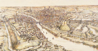 E Ridsdale Tate Panorama of York