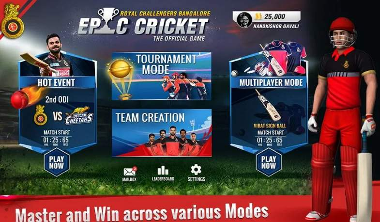RCB Epic Cricket APK Download