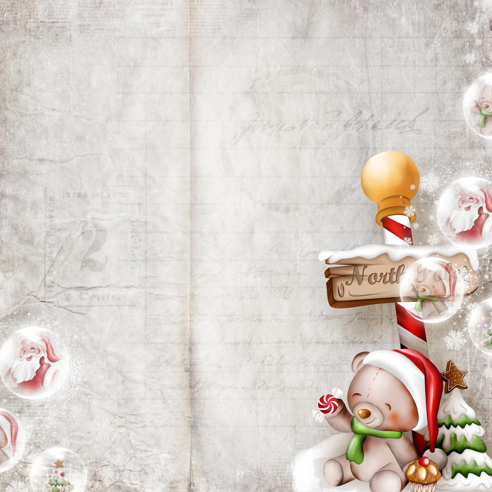 Картинки надписями, винтажная новогодняя открытка в фотошопе