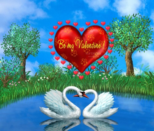Natural Scene Wallpaper: Very Most Beautiful Love Wallpaper