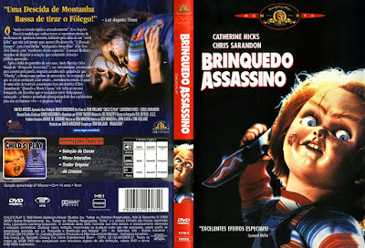 Filme Brinquedo Assassino (Child's Play) DVD Capa