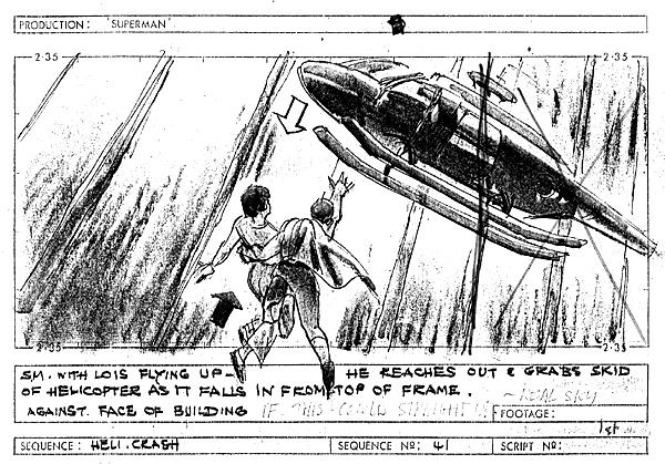 Comic Book Cinema Super Storyboards