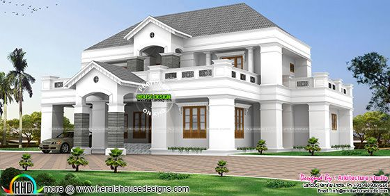 Colonial type 4750 sq-ft home