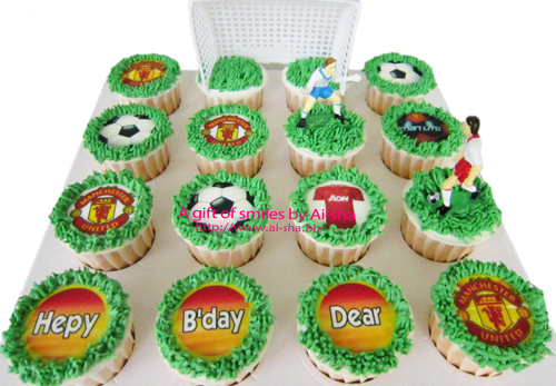 cupcake Edible Image Manchester United