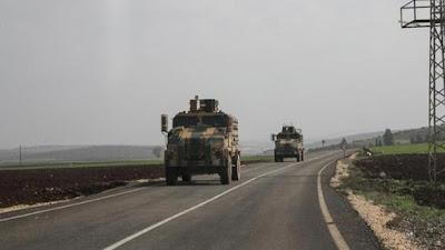 توركيا سوپاى بهرهو سنوورى رۆژئاواى كوردستان جوڵاند