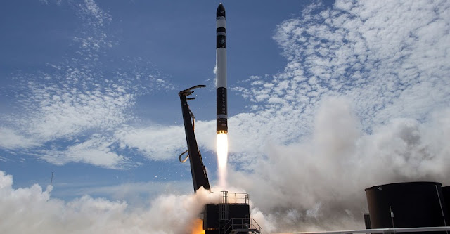 Rocket Lab successfully launched its second Electron rocket on Sunday, Jan. 21, 2018. Photo Credit: Rocket Lab