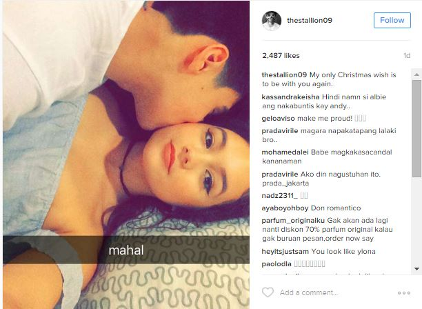Scandalous Photo Featuring Albie Casino and Girlfriend  Goes Viral! See The Photo Here!