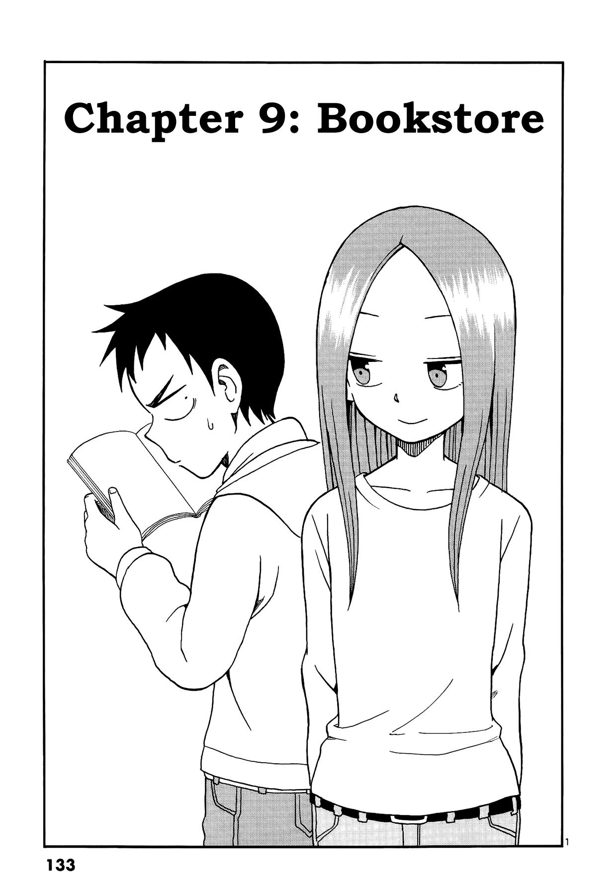 Karakai Jouzu no Takagi-san - Chapter 9