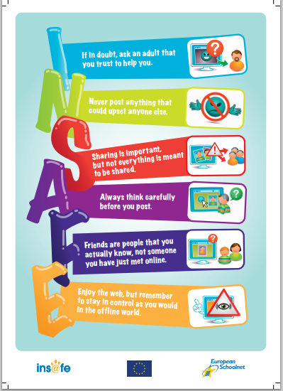 ways of reducing risk to children and young people from social networking internet use