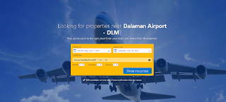 Enter your dates - DLM airport