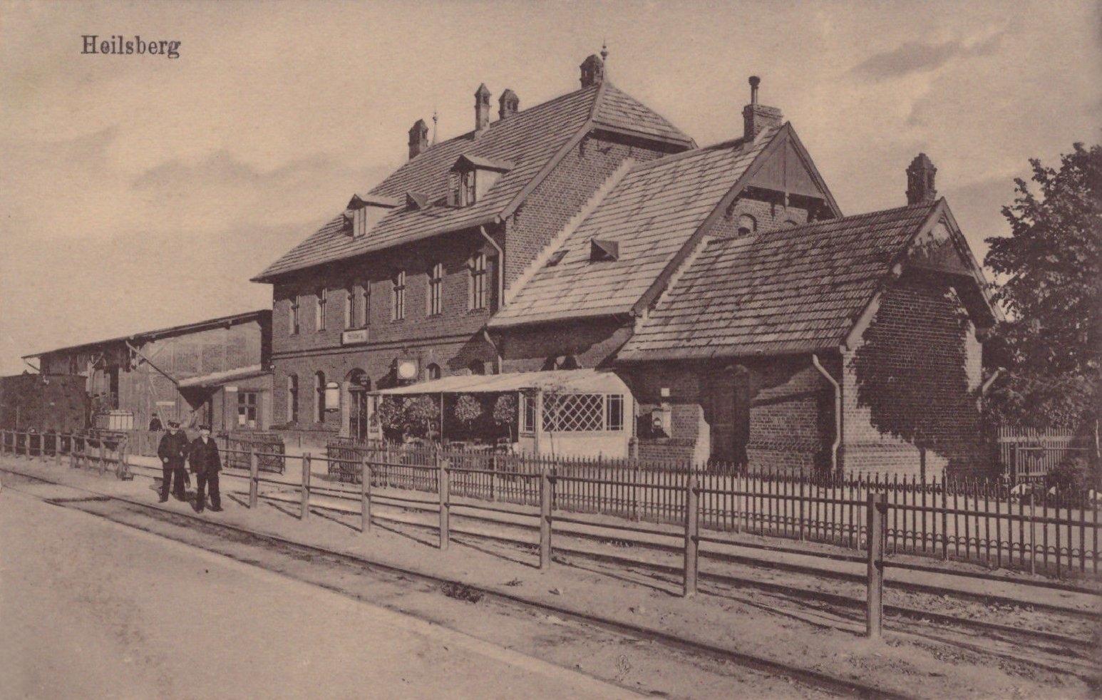 Szlakami dawnych linii kolejowych w powiecie lidzbarskim