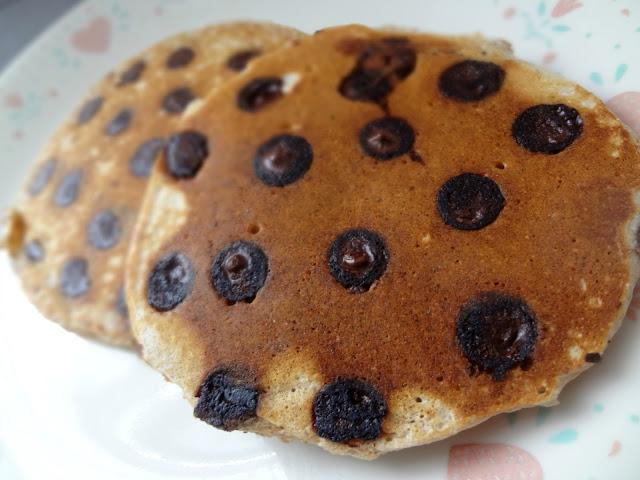 Whole Wheat Chocolate Chip Pancakes