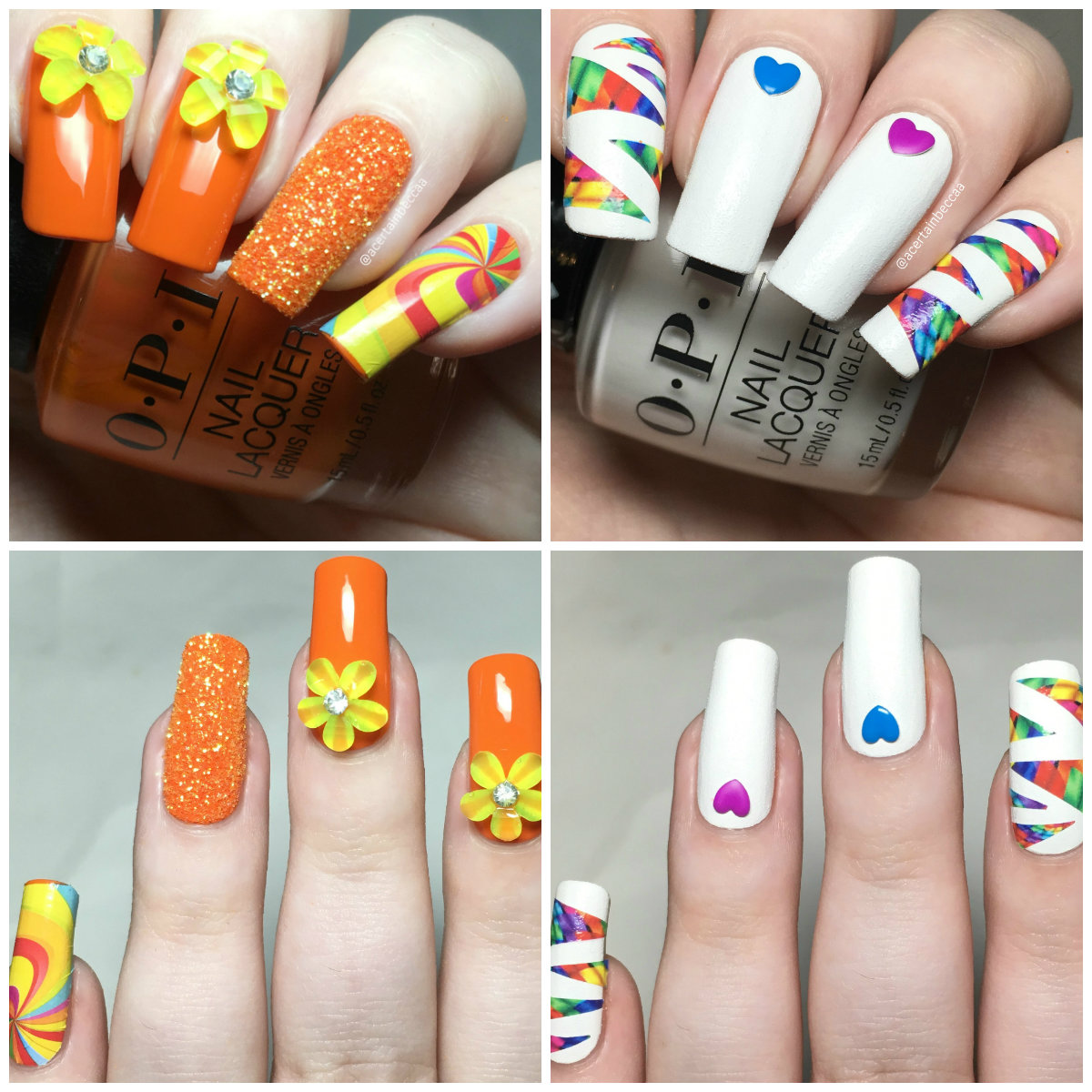 A Certain Becca Nails Queen Of Nails Rainbow Nail Art Kit