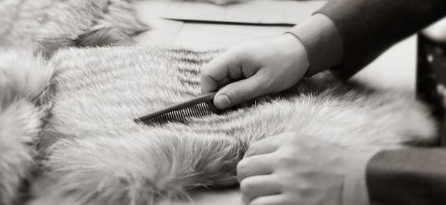 правила ухода за меховыми накидками
