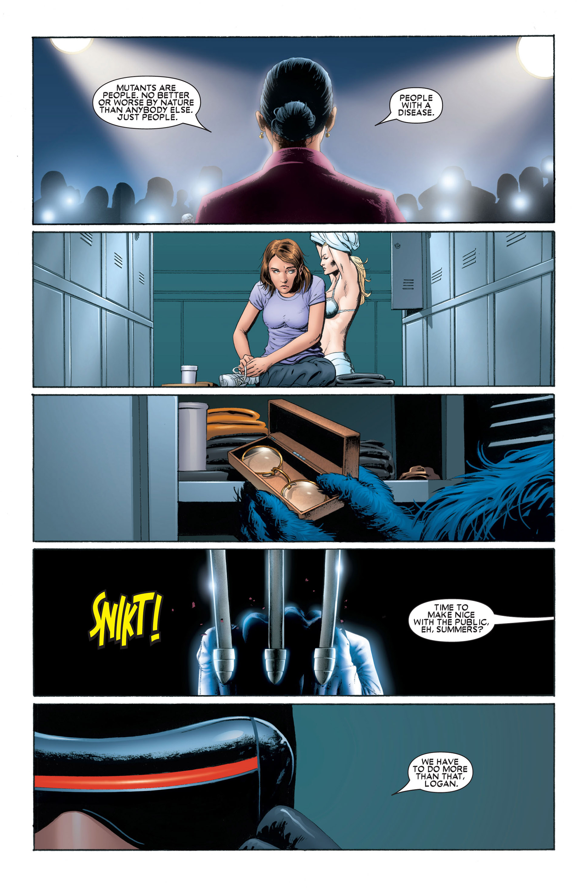 Astonishing X-Men (2004) issue 1 - Page 21