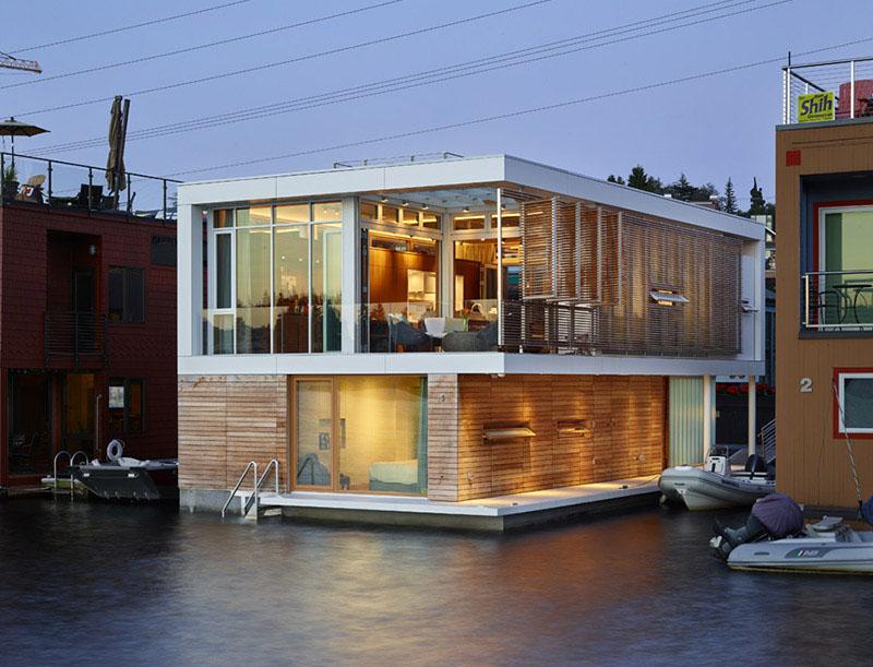 Modaya dair seattle 39 da y zen ev - Floating house seattle ...