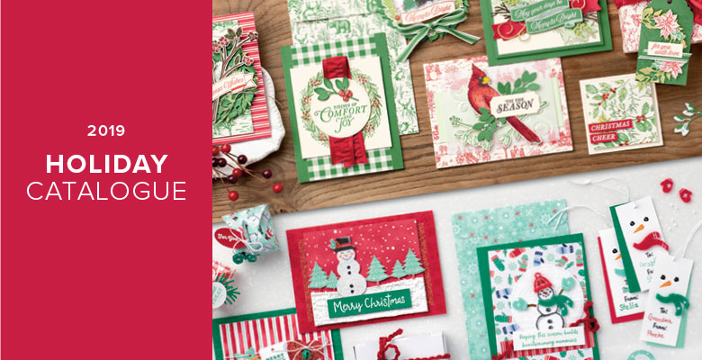 Stampin' Up! 2019 Holiday Catalogue