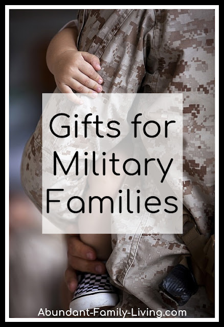 Gifts for Military Families