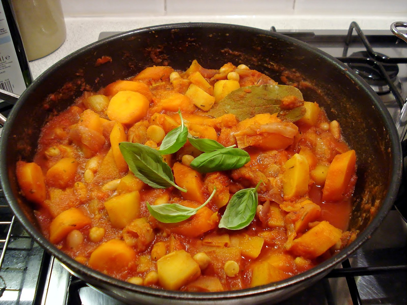 Chunky Vegetable & Bean Stew GF SCD | Gluten Free SCD and ...