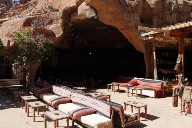 A restaurant near the Petra Monastery, Jordan