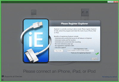 iExplorer v3.9.7.0 Registration Code is Available Here