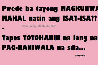 all the sayings in the category hugot lines love quotes for him
