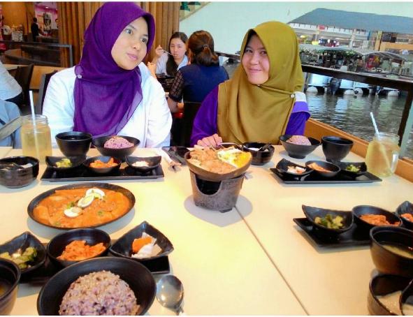 Tempat Makanan Korea DubuYo di The Mines, Seri Kembangan Daebak!