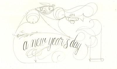 Matthew Reid art illustration matthew reid new years day 2k18 reflections