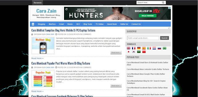 Cara Membuat Efek Petir Pada Blog Yang Keren Terbaru