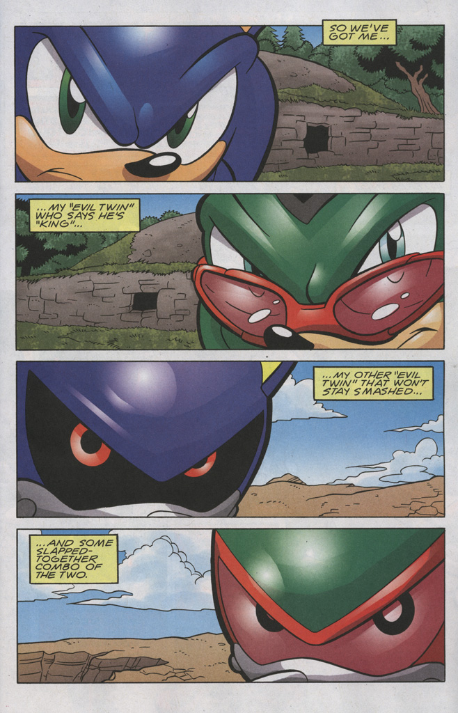 Read online Sonic The Hedgehog comic -  Issue #192 - 2