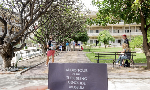 Tuol Sleng Genocide Museum S21 Security Prison Phnom Penh Cambodia History