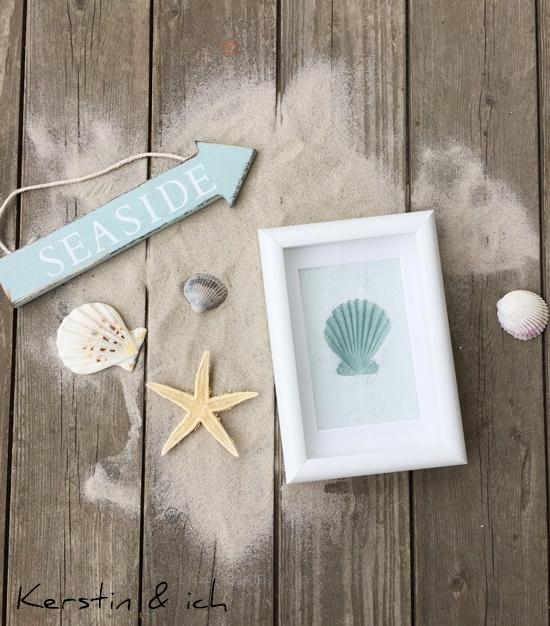Deko Beach House Modelliermasse Beach Sommer Kordel