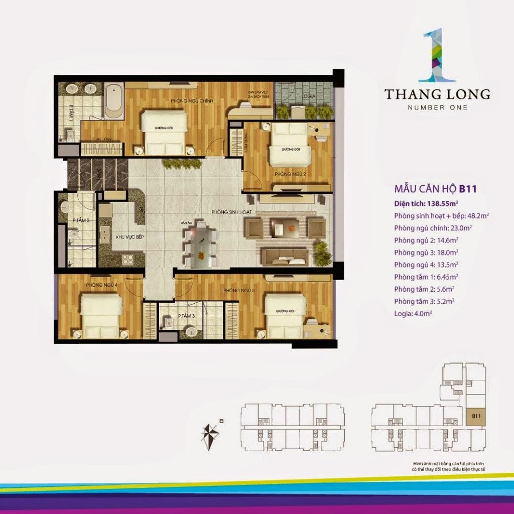 Căn B11- 138,55 m2