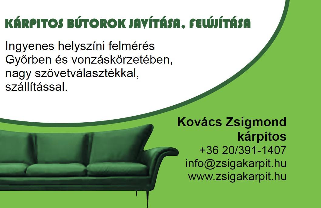Kovács Zsigmond Kárpitos Győr