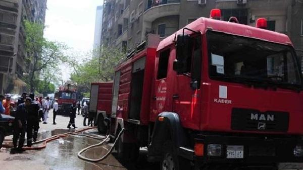السيطرة على حريق بجوار مصنع الزيوت بميت غمر