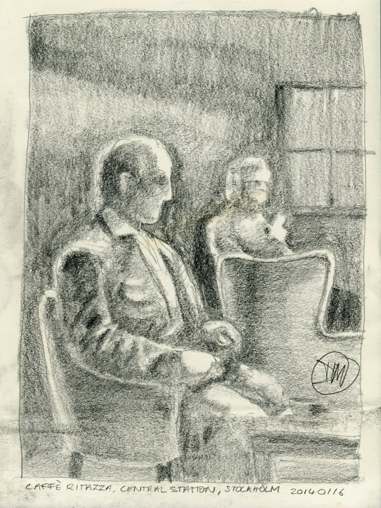 Sketches from Central Station by David Meldrum