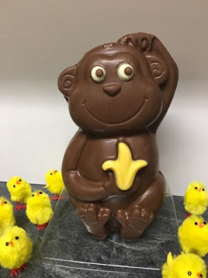 Asda chocolate monkey