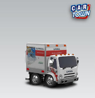 Car Town Moving Van 2012 Uhaul