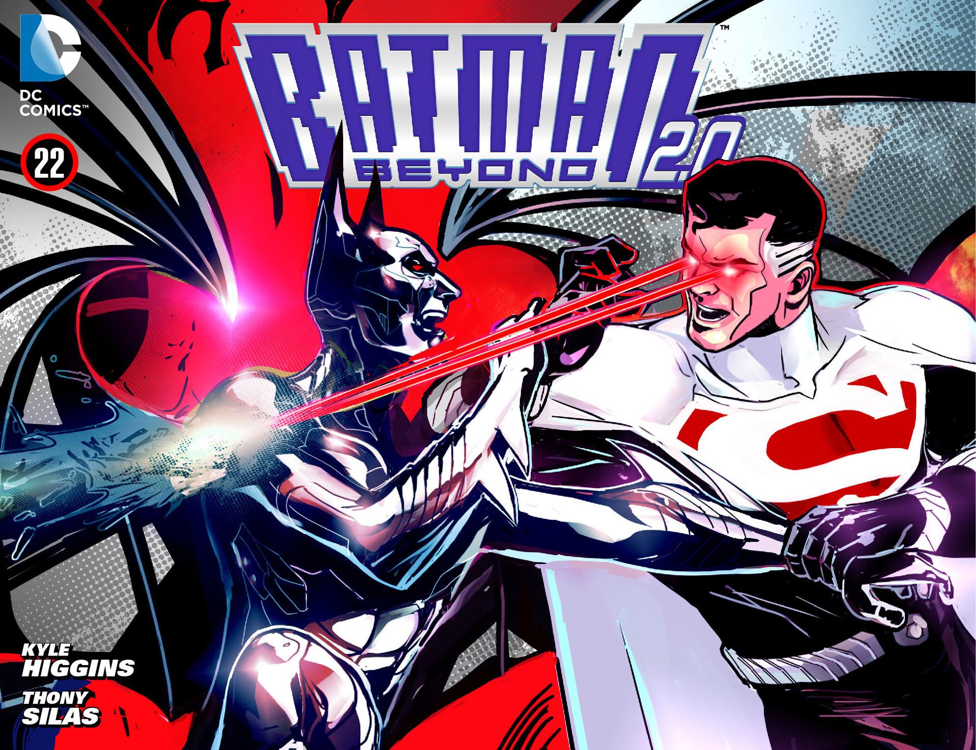 Batman Beyond 2.0 22 Page 1