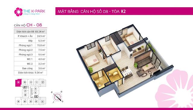 Thiết kế căn hộ 08