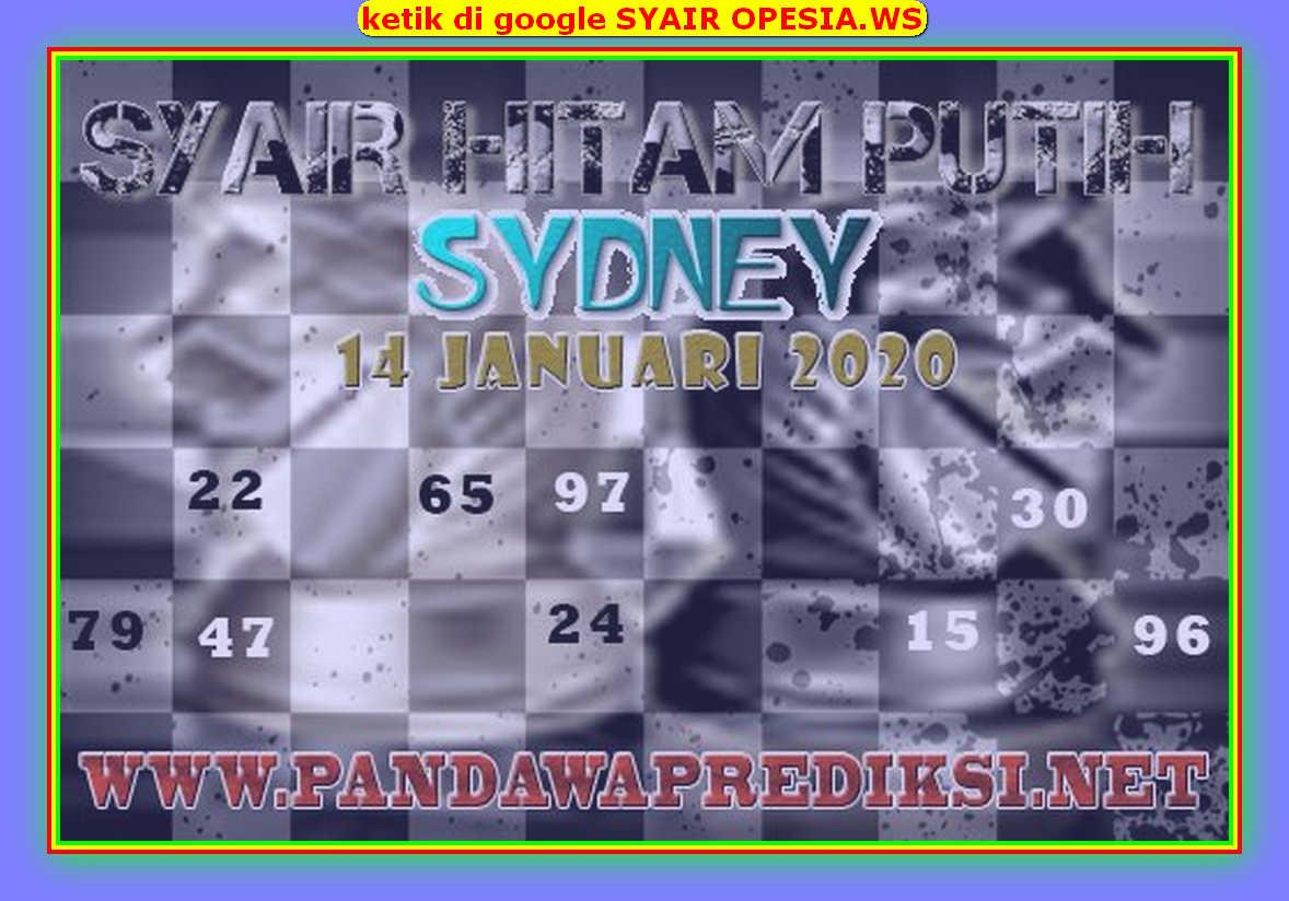 Kode syair Sydney Selasa 14 Januari 2020 110