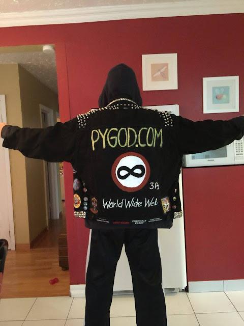 PYGOD DotCOM kutte battle jacket