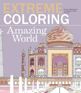 Extreme Coloring Amazing World: Relax and Unwind, One Splash of Color at a Time