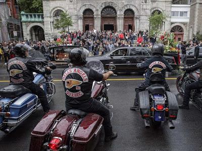 NeerDoWellHallofInfamy: Funeral for Hells Angels' Kenny Bédard